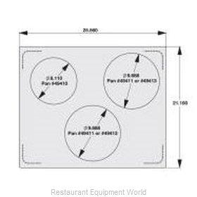 Vollrath 8250616 Adapter Plate