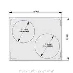 Vollrath 8250714 Adapter Plate