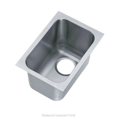 Vollrath 9101-1 Sink Bowl, Weld-In / Undermount