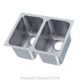 Vollrath 9102-1 Sink Bowl, Weld-In / Undermount