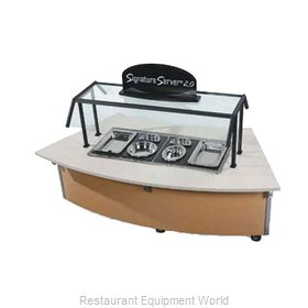 Vollrath 97350 Serving Counter, Hot Food, Electric