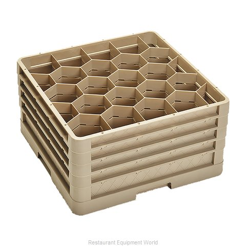 Vollrath CR11GGGG Dishwasher Rack, Glass Compartment