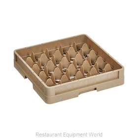 Vollrath CR6 Dishwasher Rack, Glass Compartment