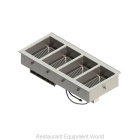 Vollrath FC-4DH-04208-T Hot Food Well Unit, Drop-In, Electric