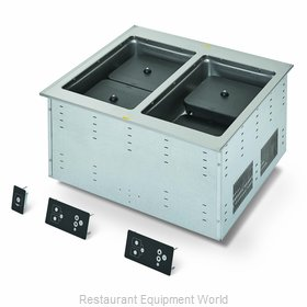 Vollrath FC-6IH-02208 Induction Hot Food Well Unit, Drop-In