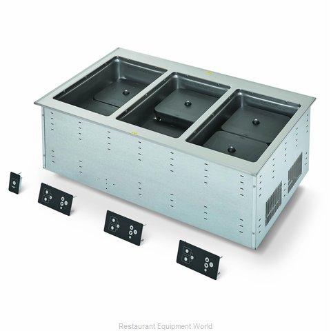 Vollrath FC-6IH-03120 Induction Hot Food Well Unit, Drop-In