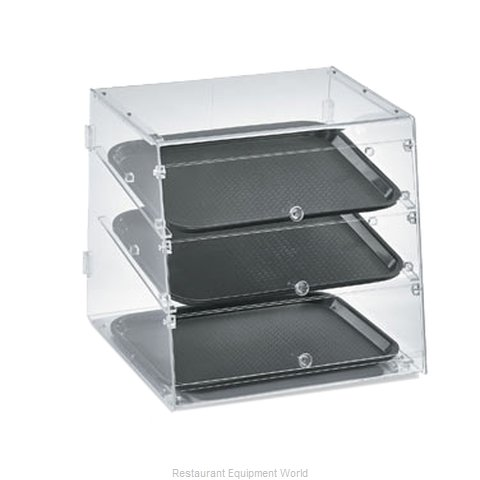 Vollrath KDC1418-3-06 Display Case, Pastry, Countertop (Clear)