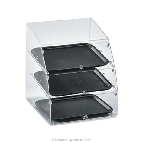 Vollrath LBC1418-3F-06 Display Case, Pastry, Countertop (Clear)