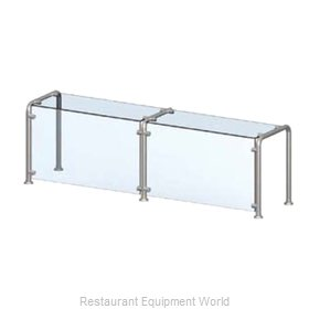 Vollrath N98650 Sneeze Guard, Stationary