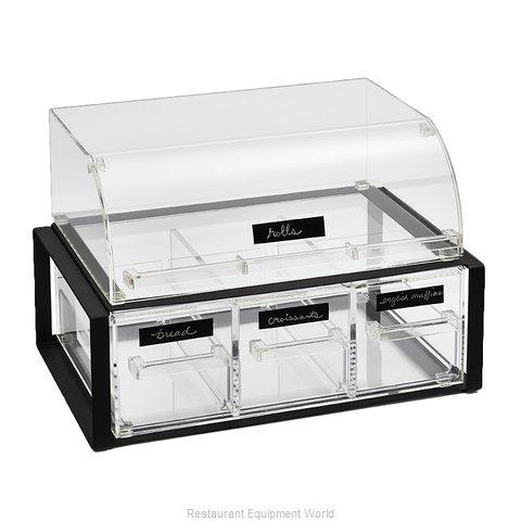 Vollrath NBCBB33F-06 Display Case, Non-Refrigerated Countertop