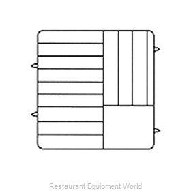 Vollrath PM1211-6 Dishwasher Rack, Plates