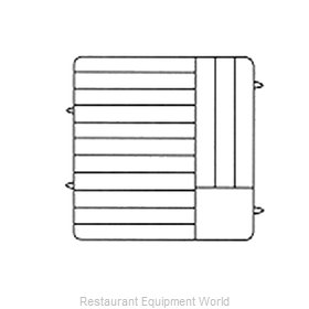 Vollrath PM1412-6 Dishwasher Rack, Plates