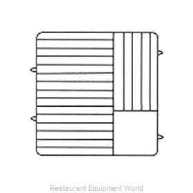 Vollrath PM2011-6 Dishwasher Rack, Plates