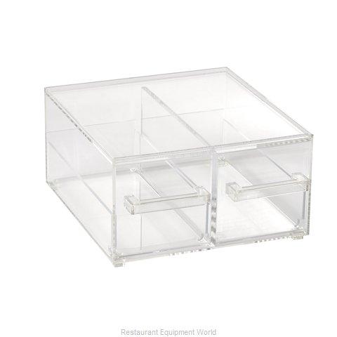 Vollrath SBB23 Display Case, Non-Refrigerated Countertop