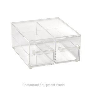 Vollrath SBB23 Display Case, Non-Refrigerated Countertop