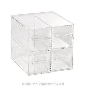 Vollrath SBB2x2 Display Case, Non-Refrigerated Countertop