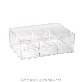Vollrath SBB33 Display Case, Non-Refrigerated Countertop