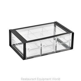 Vollrath SBB33F-06 Display Case, Non-Refrigerated Countertop