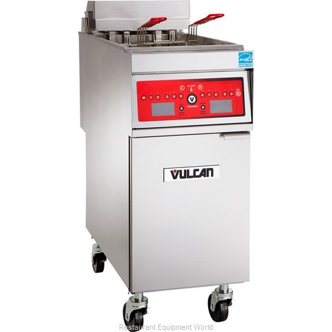 Vulcan-Hart 1ER50DF Fryer, Electric, Floor Model, Full Pot