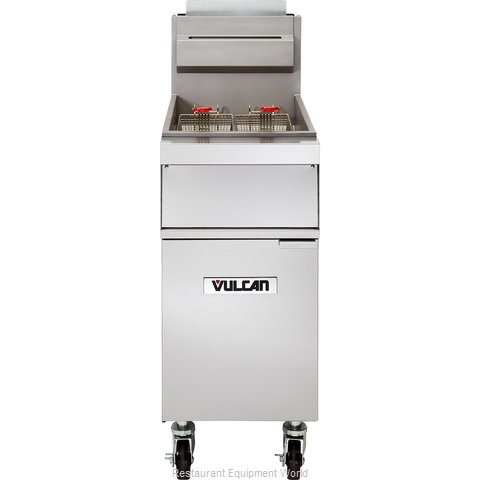 Vulcan-Hart 1GR35M Fryer, Gas, Floor Model, Full Pot
