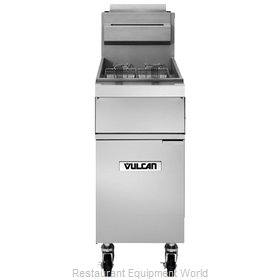 Vulcan-Hart 1GR45A Fryer, Gas, Floor Model, Full Pot