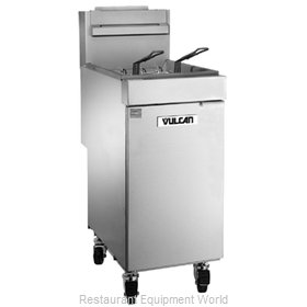 Vulcan-Hart 1VEG35M Fryer, Gas, Floor Model, Full Pot