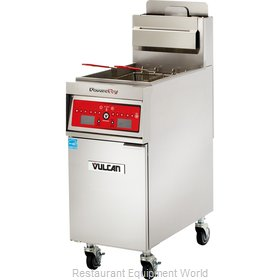 Vulcan-Hart 1VK45DF Fryer, Gas, Floor Model, Full Pot