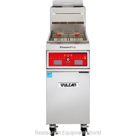Vulcan-Hart 1VK85A Fryer, Gas, Floor Model, Full Pot