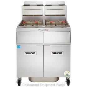 Vulcan-Hart 2TR85DF Fryer, Gas, Multiple Battery