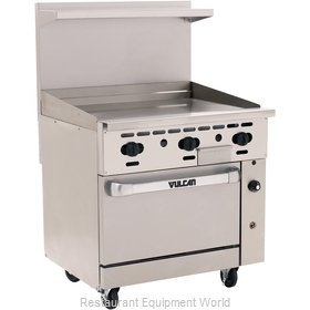 Vulcan-Hart 36S-36G Griddle Gas Restaurant Range Match