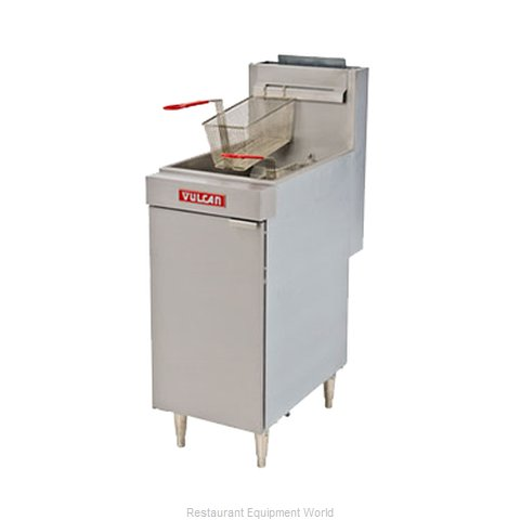 Vulcan-Hart LG500 Fryer, Gas, Floor Model, Full Pot