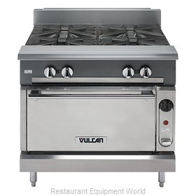 Vulcan-Hart V2BG18C Range 36 2 open burners 18 griddle