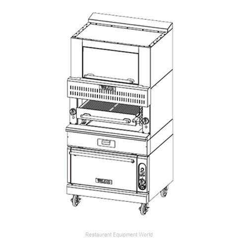 Vulcan-Hart VBB1SF Broiler, Deck-Type, Gas
