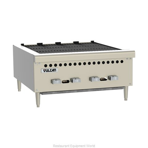 Vulcan-Hart VCRB36 Charbroiler, Gas, Countertop (Magnified)