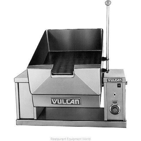 Vulcan-Hart VECTS12 Tilting Skillet Braising Pan, Countertop, Electric