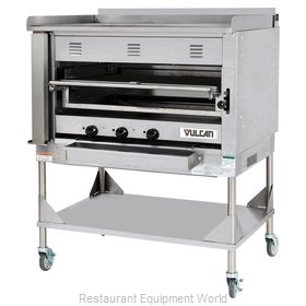 Vulcan-Hart VST4B Broiler, Deck-Type, Gas