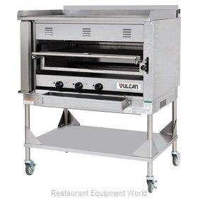 Vulcan-Hart VST4B Broiler, Deck-Type, Gas