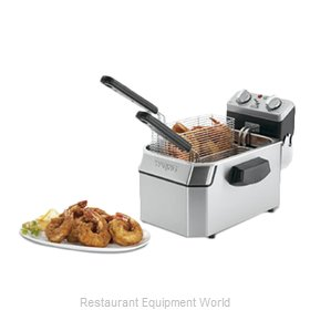 Waring WDF1000 Fryer, Electric, Countertop, Full Pot