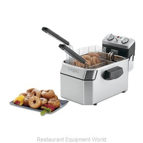 Waring WDF1000B Fryer, Electric, Countertop, Full Pot