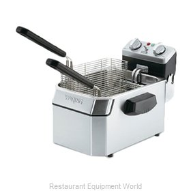 Waring WDF1500B Fryer Counter Unit Electric Full Pot