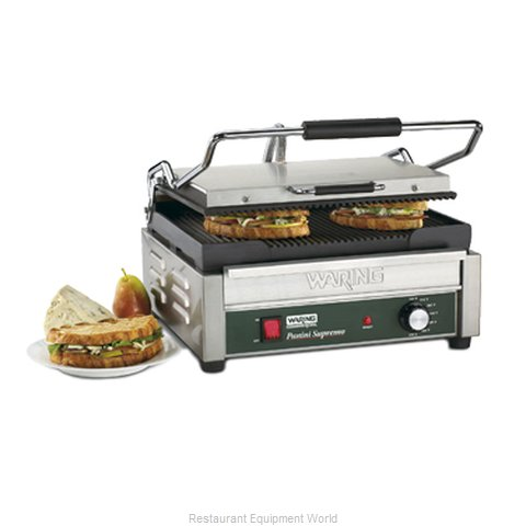 Waring WPG250 Sandwich / Panini Grill (Magnified)