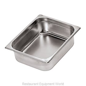 Paderno World Cuisine 14102-02 Steam Table Pan, Stainless Steel
