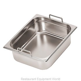 Paderno World Cuisine 14115-10 Steam Table Pan, Stainless Steel