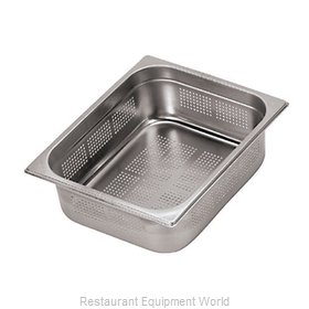 Paderno World Cuisine 14202-06 Steam Table Pan, Stainless Steel