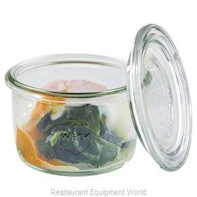Paderno World Cuisine 41589-20 Storage Jar / Ingredient Canister, Glass