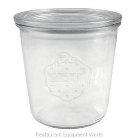 Paderno World Cuisine 41589-58 Storage Jar / Ingredient Canister, Glass