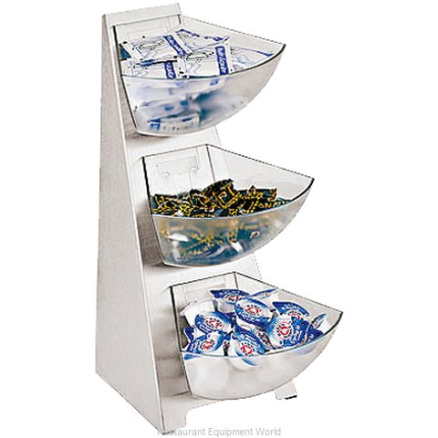 Paderno World Cuisine 41911-03 Condiment Caddy Countertop Organizer