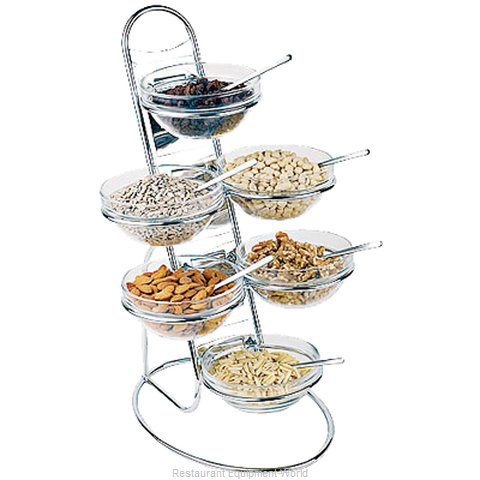 Paderno World Cuisine 41912-04 Tiered Display Server Stand