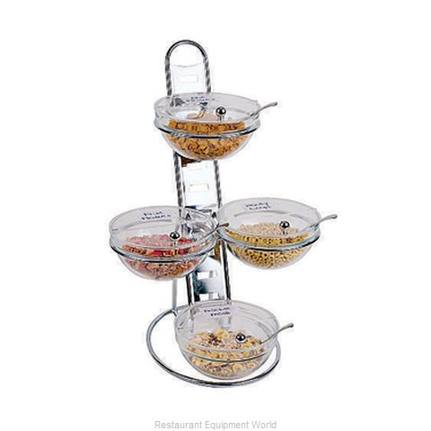 Paderno World Cuisine 41913-03 Tiered Display Server Stand