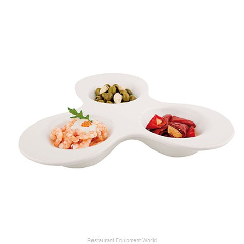 Paderno World Cuisine 44849-38 Platter, Plastic (Magnified)
